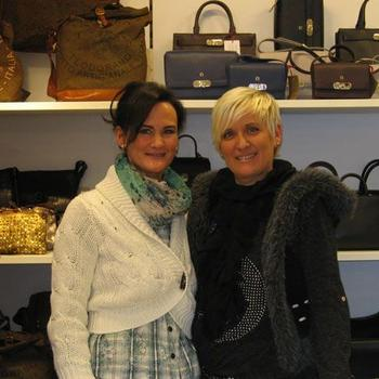 Mira Schneider und Silvia Baliu